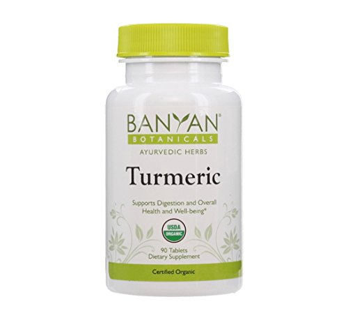Banyan Botanicals Turmeric Tablet Supplement, USDA Organic, 90 count - Supports Digestion, Overall Health and Well-being (Black Shilajit Resin compare prices)