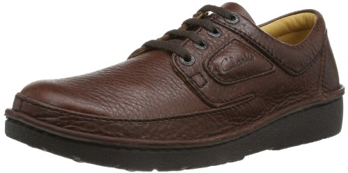 Clarks Nature II 2032 5553 Men's Lace-Up Shoes - Brown, 10 UK
