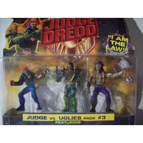 Mega Heroes Judge Dredd Pack #3 - 1