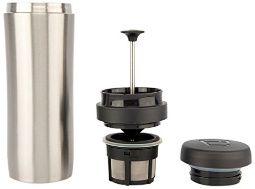 Espro Travel Coffee Press, Stainless Steel, 12 oz (Stainless)