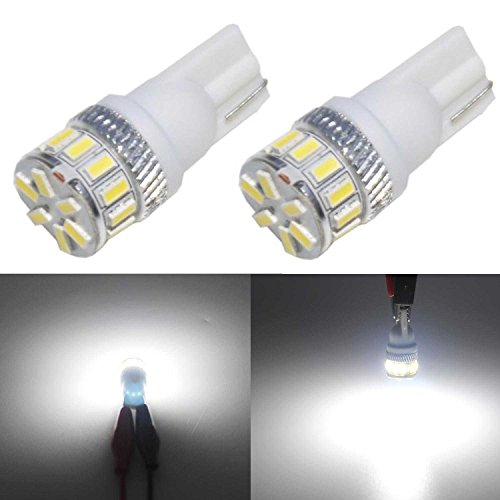 JDM ASTAR Extremely Bright 3014 Chipsets 194 168 2825 W5W T10 New Style LED Bulbs,Xenon White (2012 Camry Se Owners Manual compare prices)