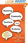 Resolving Community Conflicts and Pro...