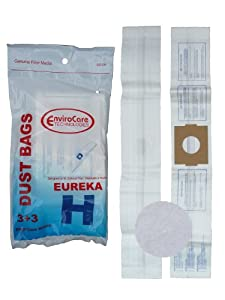 Eureka 9 Eureka H Canister Vacuum Bags + 3 Filters 52323, Roto-Matic Powerteam Series, Princess, Mighty Mite Vacuum Cleaners, 52323A, 5 at Sears.com