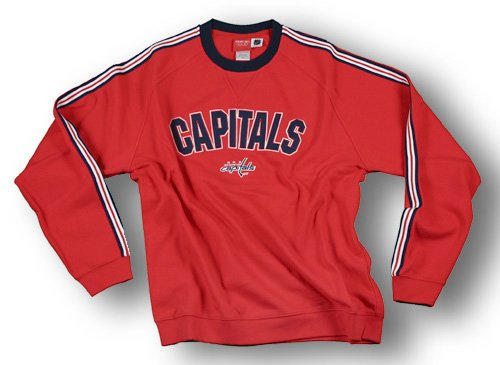 Washington Capitals NHL Men's KEN Fleece Crewneck