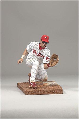 Philadelphia Phillies Chase Utley McFarlane Figurine - Home Jersey - Licensed MLB Baseball Gift