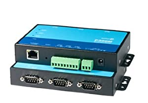 Gowe® 3 Ports Serial Device Server + Modbus Gateway RS-232 RS485/422 to Ethernet TCP/IP