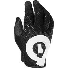 SixSixOne Raji Adult Off-Road Cycling MTB Gloves - Black / Small