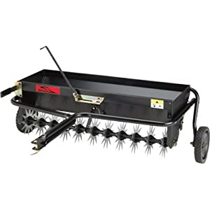 Brinly AS-40BH Tow Behind Combination Aerator Spreader, 40-Inch from Brinly Hardy