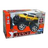 XStunt Radio Controlled 1/14 Scale 360 Spin Stunt Jeep inc. Controller - Yellowby XStunt
