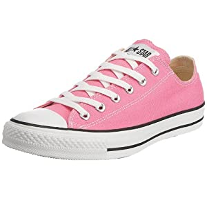 Converse Unisex Chuck Taylor Classic Pink Sneaker - 6.5 Men - 8.5 Women