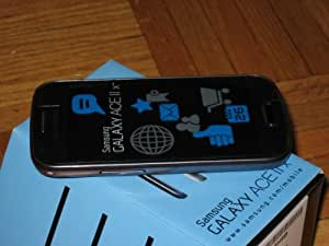 SAMSUNG GALAXY ACE II X GTS7560 UNLOCKED BLACK