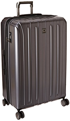 Delsey Luggage Helium Titanium 29 Inch EXP Spinner Trolley Metallic, Graphite, One Size (Delsey Luggage Helium Trolley compare prices)