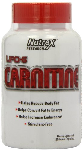 Nutrex Lipo 6 Carnitine gélules liquides, comte