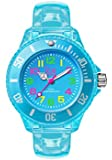 ICE-Watch - HA.NBE.M.U.15 - Ice Happy - Neon Blue - Montre Enfant - Quartz Analogique - Cadran Bleu - Bracelet Polyuréthane Bleu