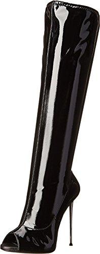 black shiny boots giuseppe zanotti