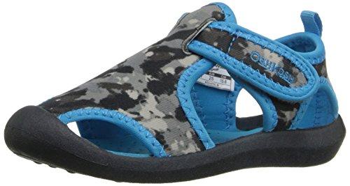 OshKosh B'Gosh Aquatic-B Water Shoe (Toddler/Little Kid), Grey/Blue, 9 M US Toddler