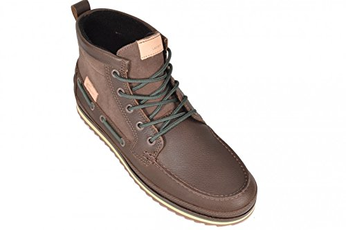 Lacoste stivaletti Sauville Mid 8 - Dark Brown/Dark Brown, Marrone (marrone), 45