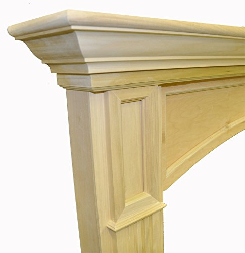 Westminster 6' Paint Grade Unfinished Poplar Full Surround ...