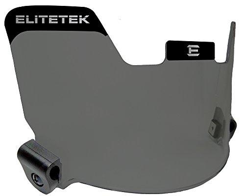EliteTek Football Eye-shield Visor (Smoke Tinted) (Football Helmets Shield compare prices)