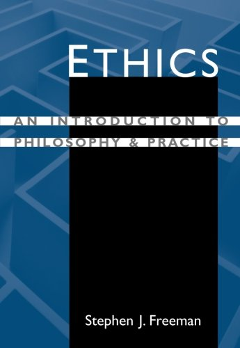 a look at ethics as an introduction to philosophy Ethics: a general introduction ethics are a system of moral principles and a branch of philosophy which defines what is good for individuals and society virtue ethics looks at virtue or moral character, rather than at ethical duties and rules, or the consequences of actions - indeed some.