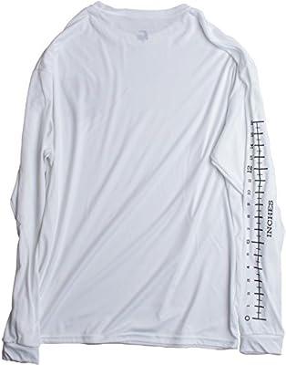 Fishing Ruler | Long Sleeve Wicking Fisherman Shirt w/ Ruler on Forearm Unisex T-shirt
