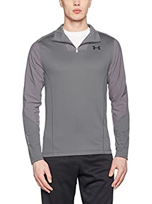Under Armour Camiseta Manga Larga Ua Cgi Raid Fitted 1/4 Zip (Grafito)