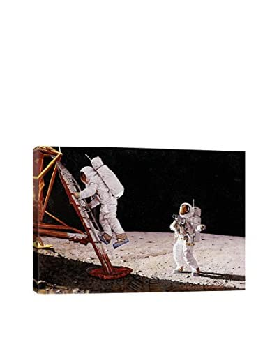 Norman Rockwell The Final Impossibility: Man's Tracks on the Moon Giclée Print