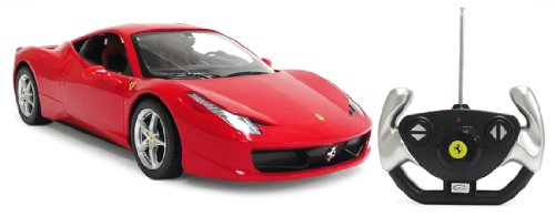 Licensed Ferrari 458 Italia 1:14 Electric RTR Remote Control RC Car (Color May Vary)