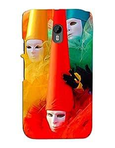 FurnishFantasy Designer Back Case Cover for Motorola Moto G (3rd gen)