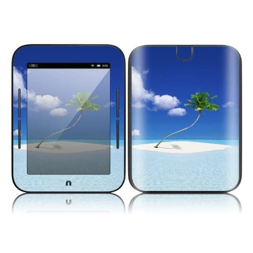 Welcome To Paradise Design Decorative Skin Cover Decal Sticker for  NOOK Simple Touch 6 inch Touchscreen eBook Reader