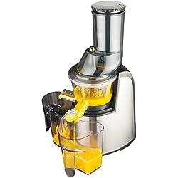 Macom 859 Just Kitchen Perfect Juice Estrattore Di Succo, Grigio/Nero