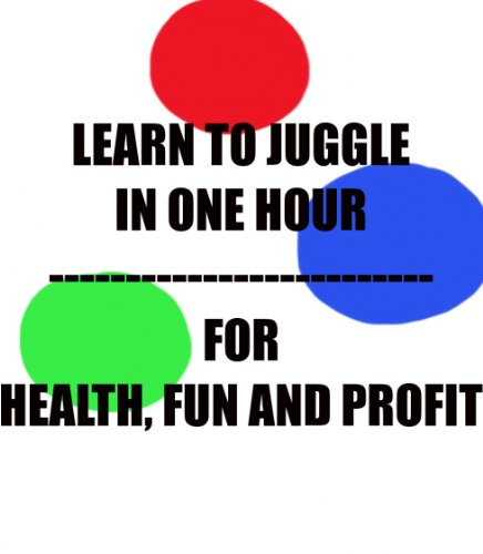 Learn To Juggle In One Hour - For Health, Fun and Profit