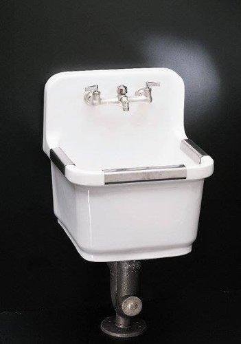 KOHLER K-6650-0 Sudbury Service Sink, White
