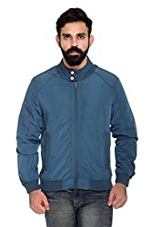 Trufit Full Sleeves Solid Men's Airforce High Neck Lightweight Sports Polyester Blend Jacket withour Filler