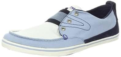 Tretorn Men's Utsjo Canvas Sneaker, Snow White/Celestial Blue,7 M US