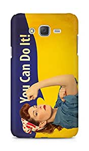Amez designer printed 3d premium high quality back case cover for Samsung Galaxy J7 (You can do it)