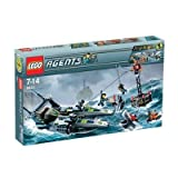 LEGO Agents 8633: Mission 4: Speedboat Rescue