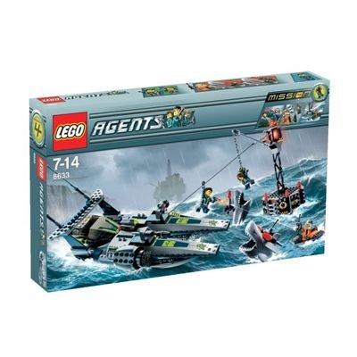 LEGO Agents 8633 - Mission 4: Rettung mit dem Speedboot