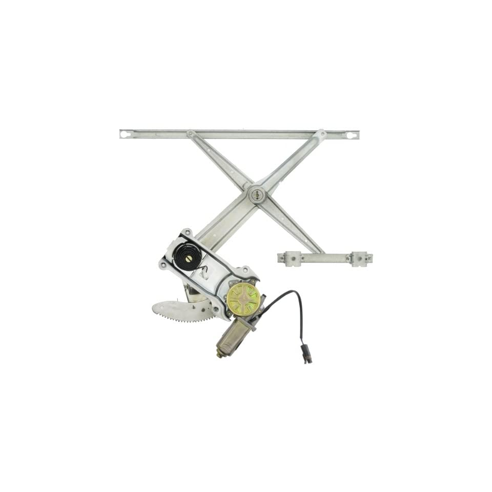 Dorman 741 752 Front Passenger Side Replacement Power Window Regulator with Motor for Dodge Ram Pickup