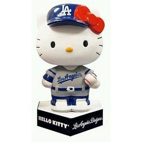 헬로 키티 & 다저스의 코라보(콜라보레이션)   밥 루헷도 (수태도 인형)당일 내방자에의 한정 배포 팬 감사 데이(2013/9/9 다저스 다지아무 ) 콜렉터 돌 한정품 기념품 Hello Kitty-