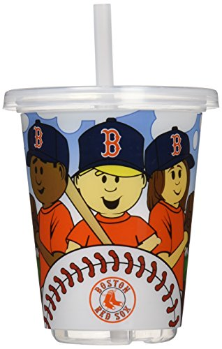 MLB Boston Red Sox Baby Fanatic Sip N Go Cups, Pack of 3 - 1