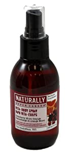 Upper Canada Naturally Vita-body Spray, Cranberry Moro Orange, 4-Fluid Ounce