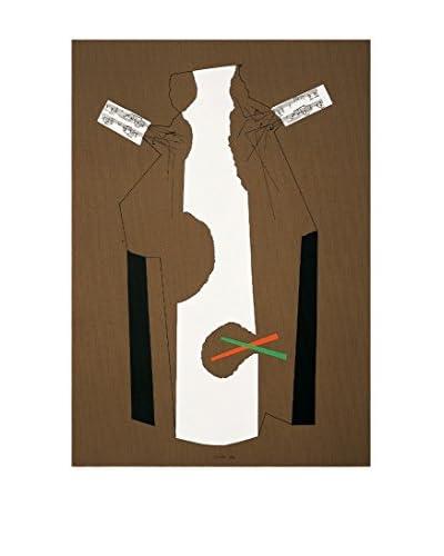 Danese  Elemento Decorativo Bruno Munari 1984  Marrón