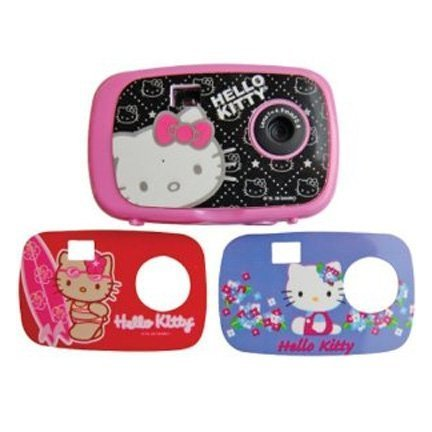 Hello Kitty Digital Camera with Changing Faceplates (Faceplate Designs May Vary) комплект ковриков в салон автомобиля novline autofamily opel vectra c 2002 2008 седан цвет черный