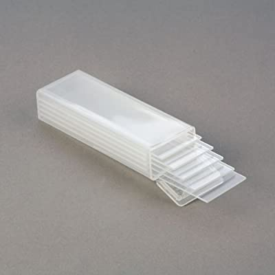 Plastic Slide Mailer - 5 Slide Capacity Shipping Container - Pk of 10 by C&A Scientific