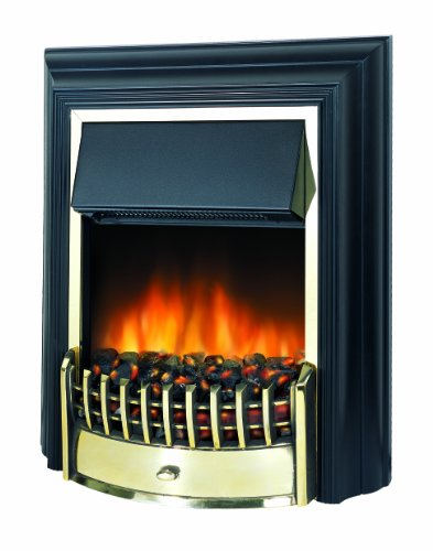 Dimplex CHT20 Cheriton Traditional Freestanding Optiflame Effect Electric Fire, 2 Kilowatt