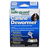 8in1 Safe-Guard Canine Dewormer (3) 2 Gram Pouches For Dogs Only, 6 Weeks and Older