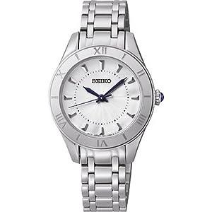Reloj Seiko Neo Classic Srz431p1 Mujer Plateado