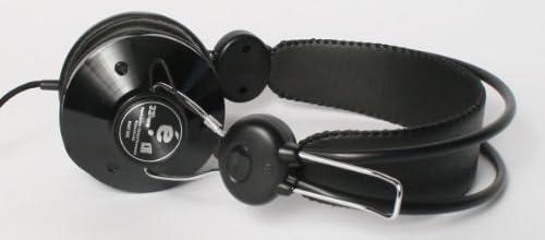 eskuche(エスクーチェ)/33 1/3 Headphone(Black)ヘッドフォン ブラック ヘッドホン