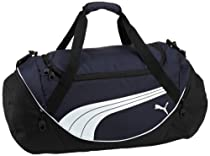 PUMA Men's Teamsport Formation 24 Inch Duffel Bag, Navy, One Size